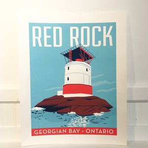 Stephanie Cheng Red Rock Poster