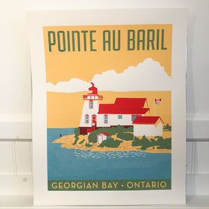 Pointe au Baril Poster