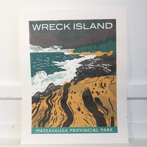 Wreck Island Poster