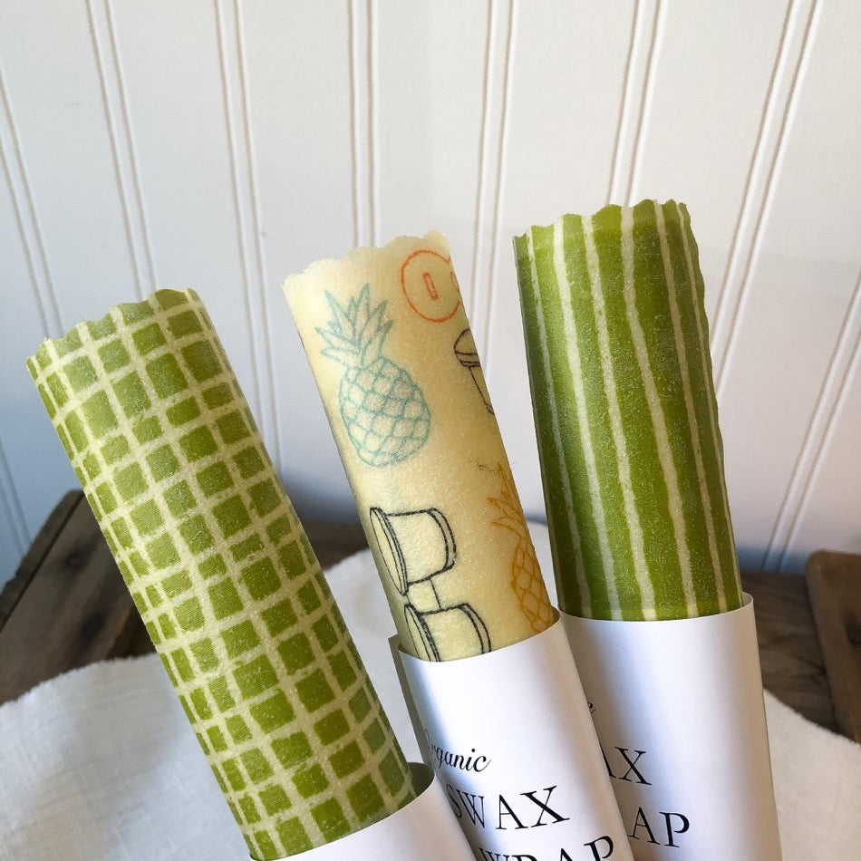 "10"" Beeswax Food Wrap Single"