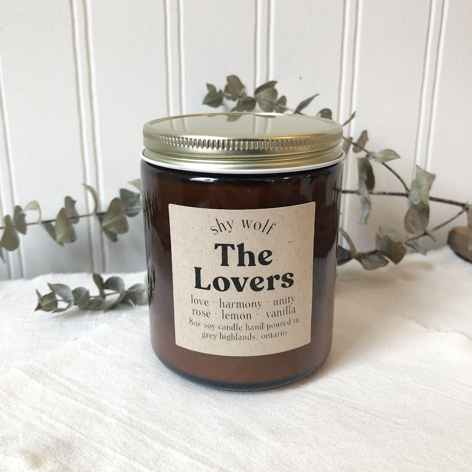 Tarot Candle - The Lovers
