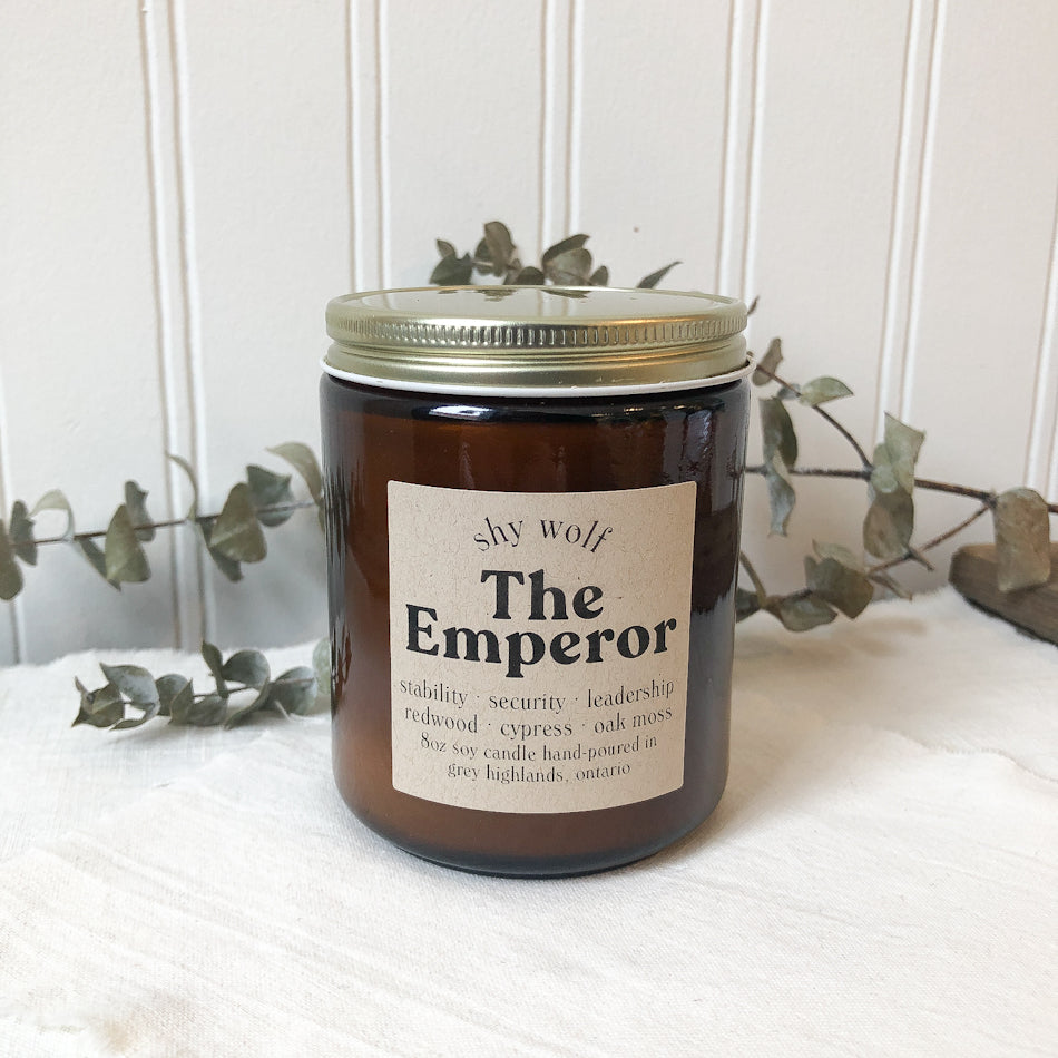Tarot Candle - The Emperor