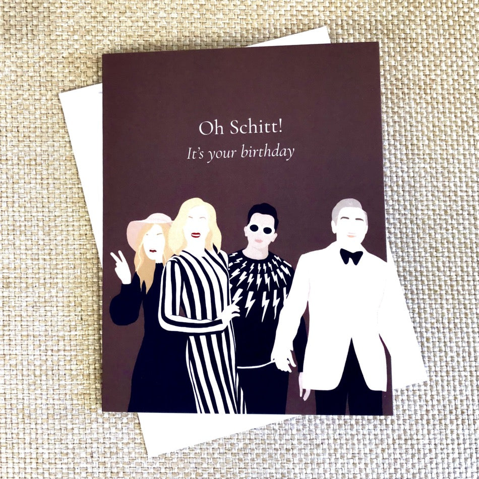 Schitt's Creek Birthday Card