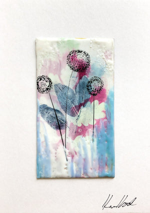 Encaustic Wax Art Cards