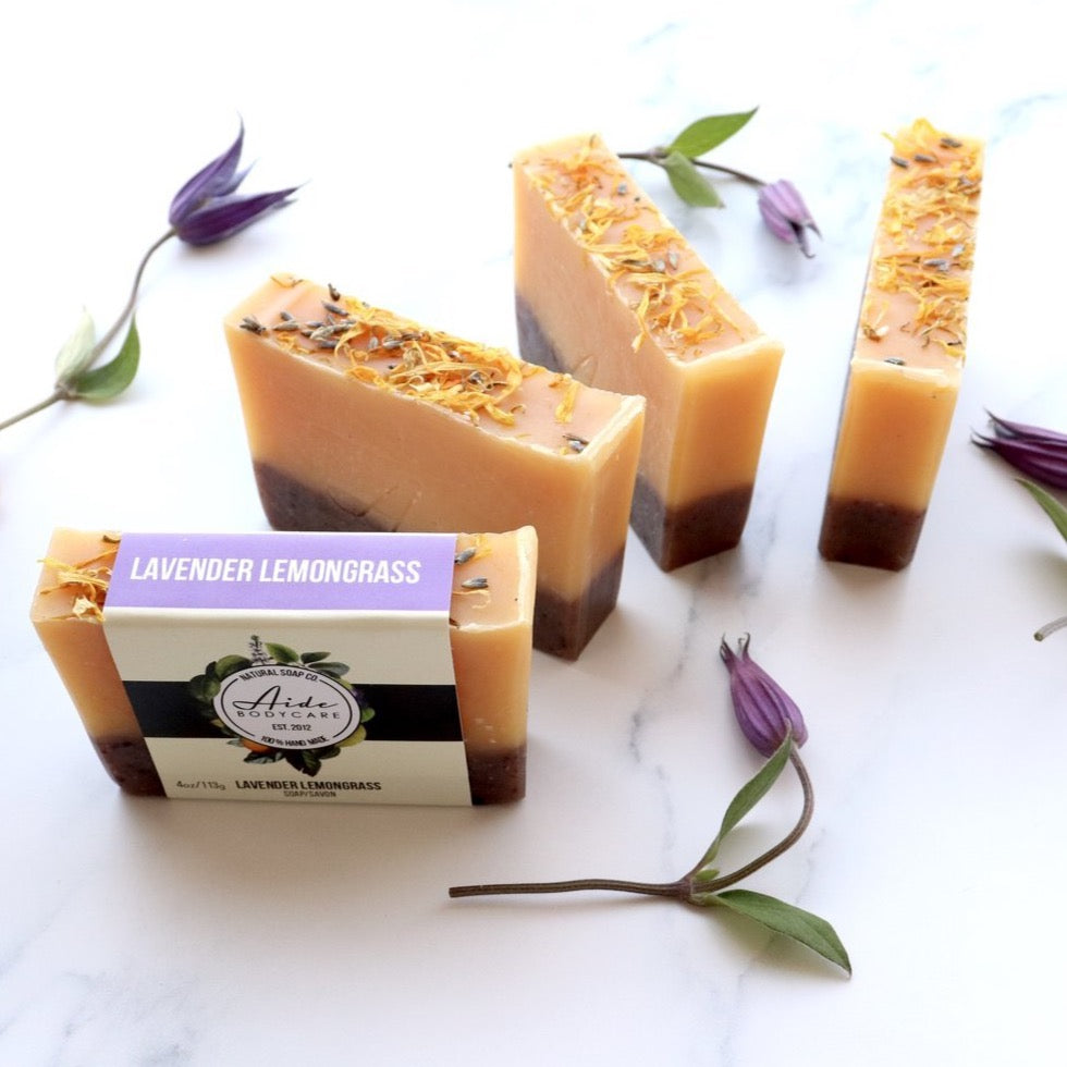 Aide Lavender Lemongrass Soap