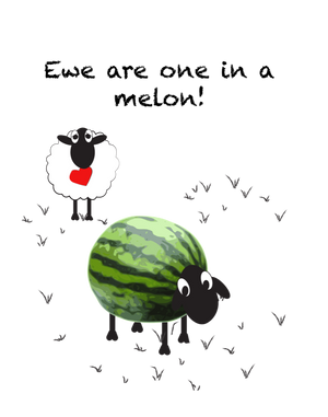 Ewe are one in a melon