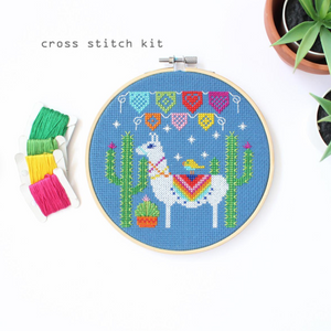 Fiesta Liama Cross Stitch Kit