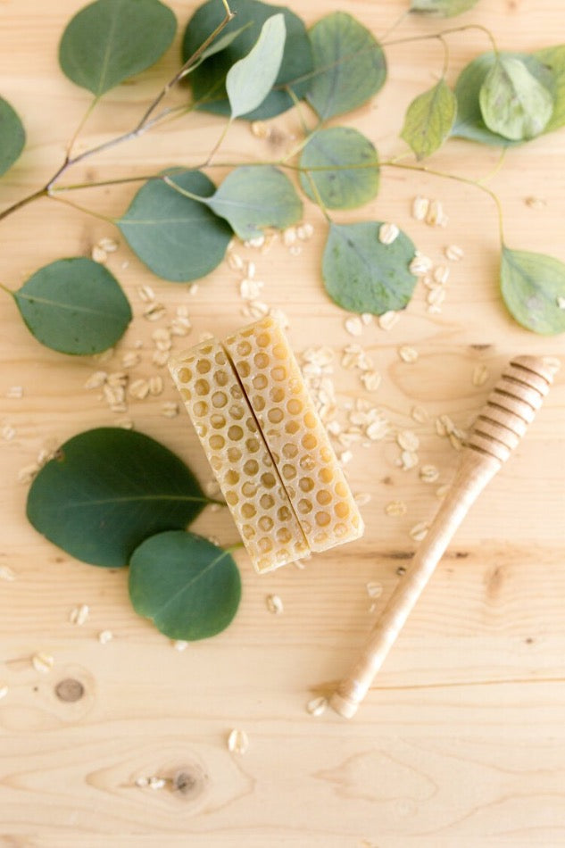 Aide Honey Oatmeal Soap Cold Process