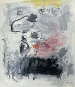 Noella Noel, Don't Think Twice, Original Painting, Oil/Oil Pastel/Graphite