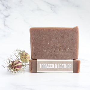 Aide Tobacco and Leather Soap