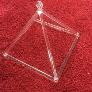 Quartz Crystal Pyramid 9 inch