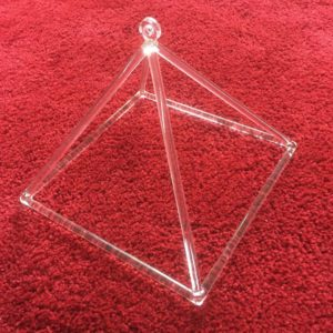 Quartz Crystal Pyramid 10 inch