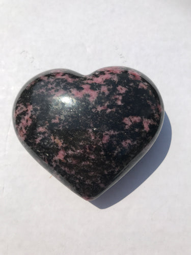 Rhodonite Heart 5