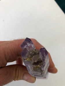 Multiple Terminated Amethyst - from Vera Cruz