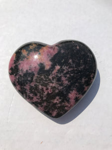 Rhodonite Heart 3
