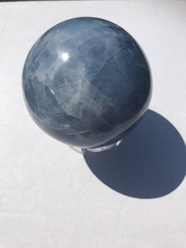 Blue Calcite Sphere 3
