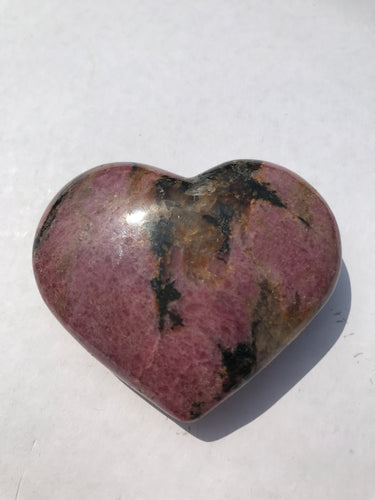 Rhodonite Heart 1