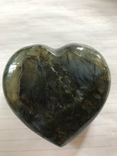 Load image into Gallery viewer, Labradorite Large Heart