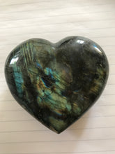 Load image into Gallery viewer, Labradorite Large Heart 2