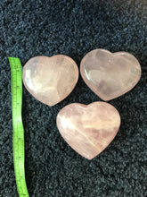 Load image into Gallery viewer, Rose Quartz Heart - large (44)