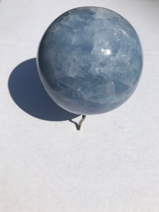 Blue Calcite Sphere 2