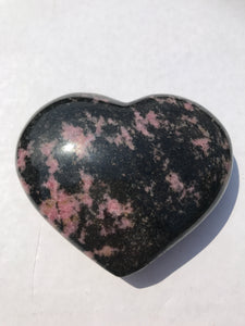 Rhodonite Heart 2