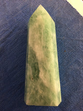 Load image into Gallery viewer, Green Flourite Tower 17cm