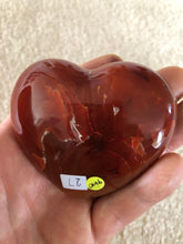Load image into Gallery viewer, Carnelian Heart 6