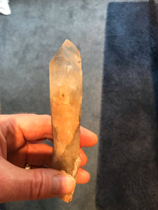 Natural Citrine Wand