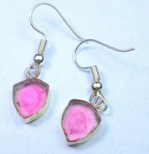 Load image into Gallery viewer, Pink Tourmaline Earrings