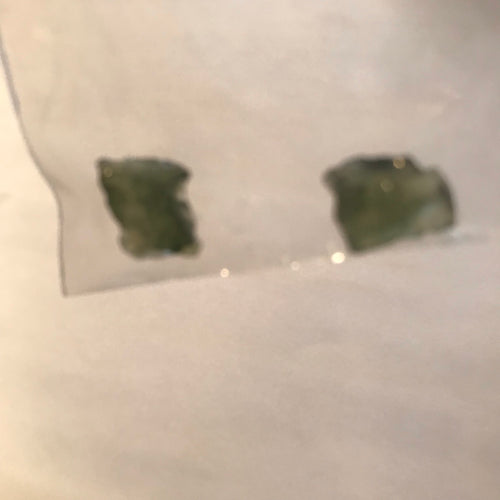 "Moldavite - ""Very-Mini Moldavites"""