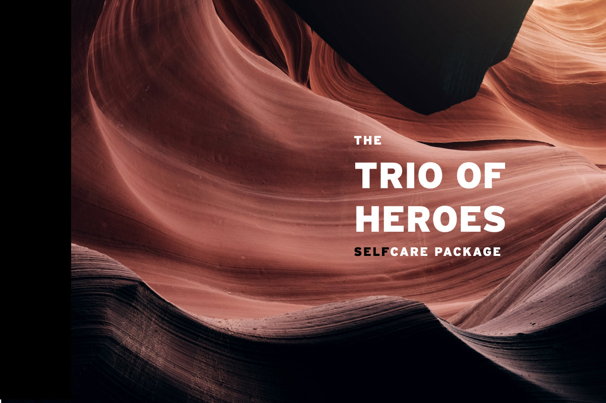 The Trio of Heroes SelfCare Package