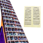 Guitar Fretboard Note Decals (3 pcs)