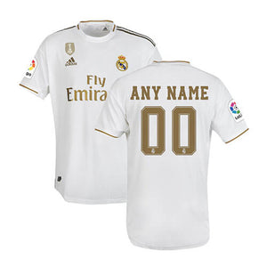 Real Madrid Football Jersey Home 19 20 Season[Customization Available]