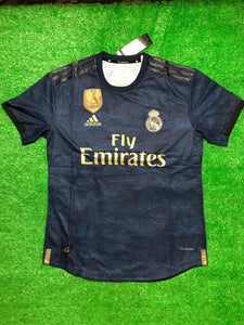 Real Madrid PLAYER VERSION Football Jersey Away 19 20 Season