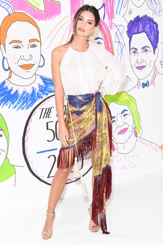 Emily Ratajkowski - Best Dressed: The Week in Outfits