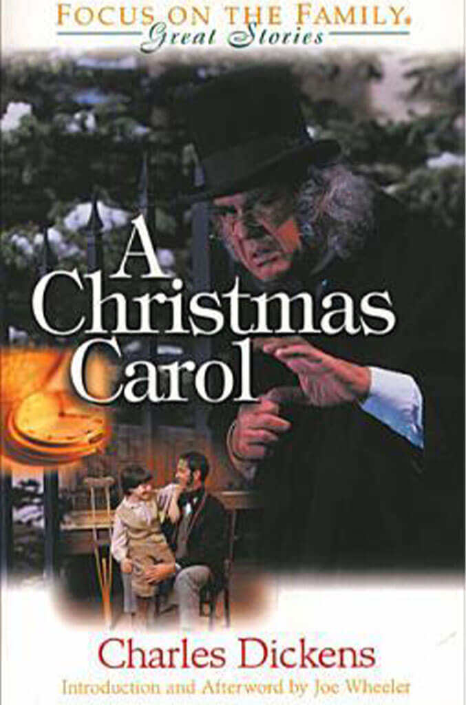 a christmas carol by charles dickens book cover