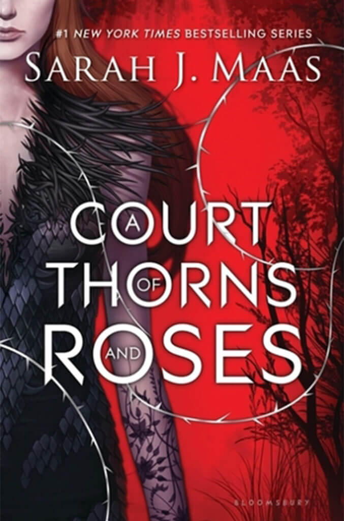 a court of thorns and roses by sarah maas book cover