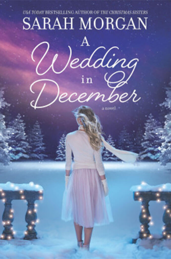 a wedding in december by sarah morgan book cover