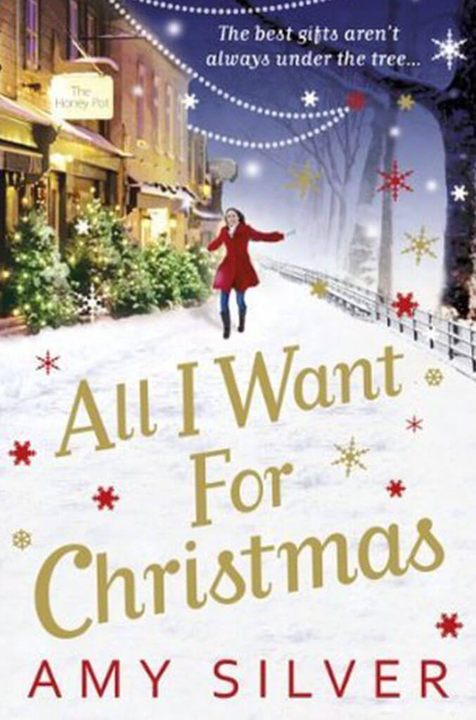 all i want for christmas by amy silver book cover