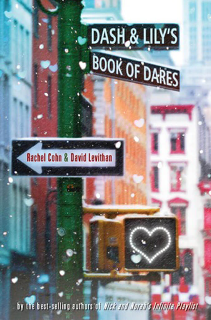 dash and lily book of dares by rachel cohn book cover