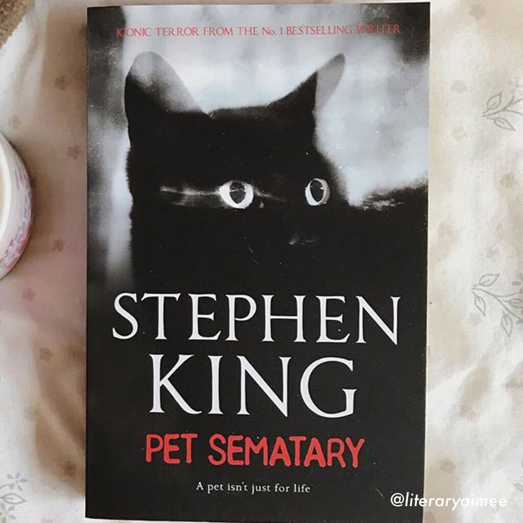 pet sematary by stephen king book cover