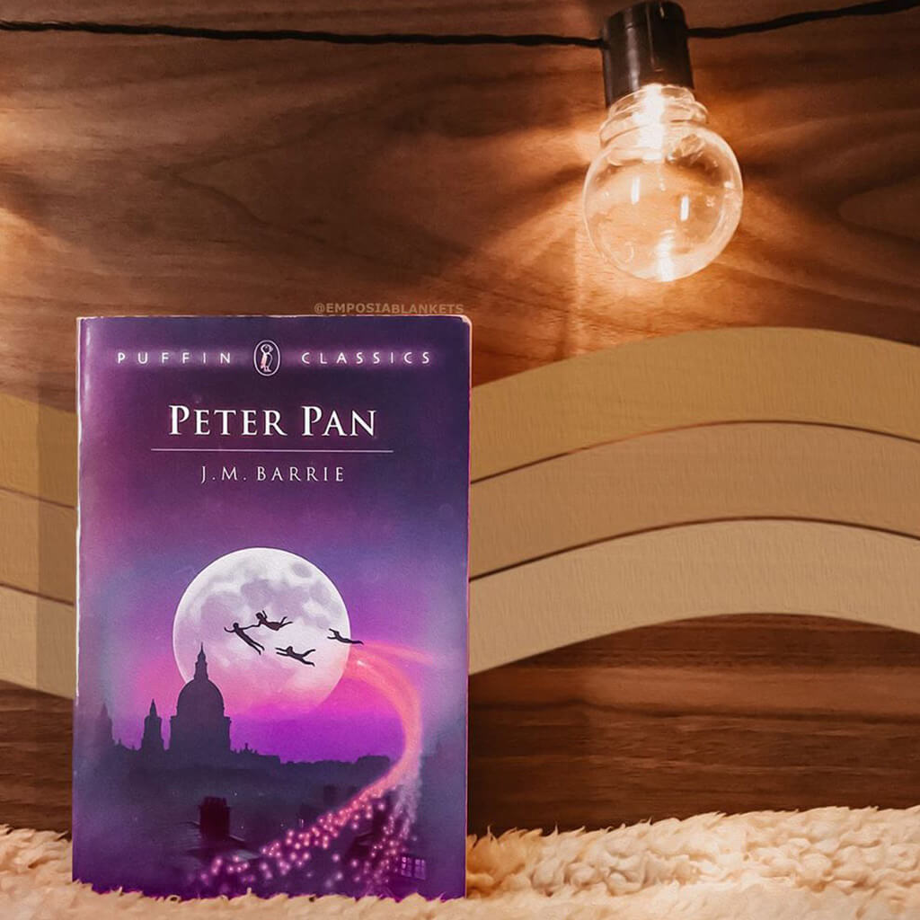 peter pan by barrie book cover