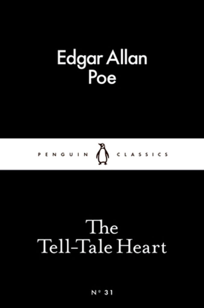 the tell tale heart by edgar allen poe book cover
