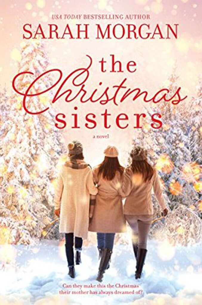 the christmas sisters by sarah morgan book cover