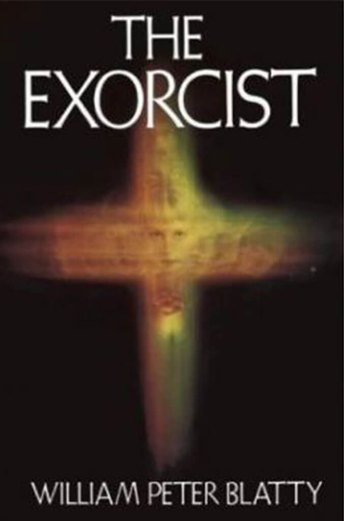 the exorcist by william peter blatty book cover