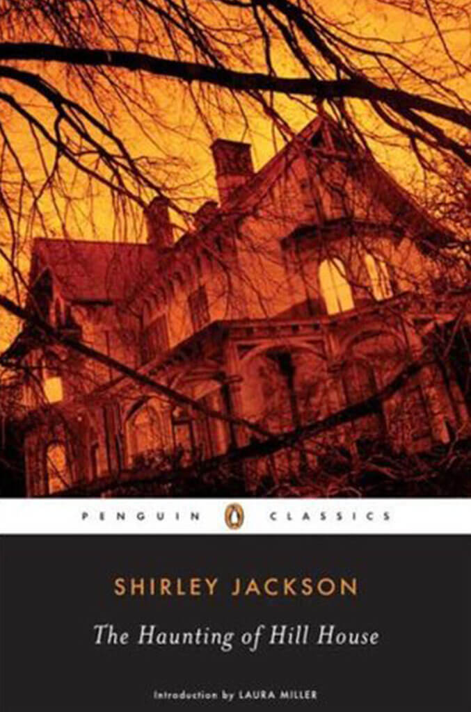the haunted house of hill house by shirley jackson book cover