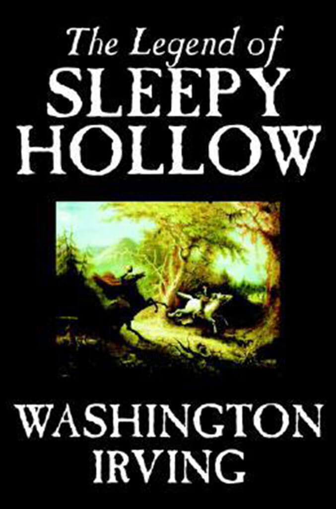 the legend of sleepy hollow by washington irving book cover