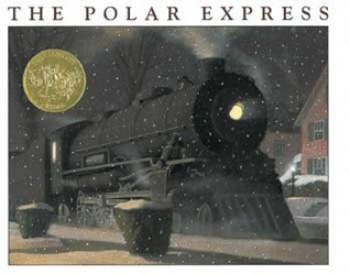 the polar express by chris van allsburg book cover