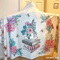 Austen's Garden Hooded Blanket